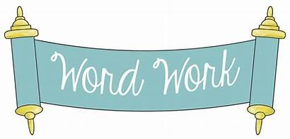 Word Clipart Syllables Study Syllable Kindergarten Clap