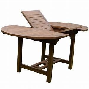 Table En Teck Jardin : table de jardin table octogonale en teck coloris brun ~ Melissatoandfro.com Idées de Décoration