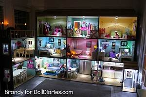 Light up your dollhouse doll diaries for Doll house lighting