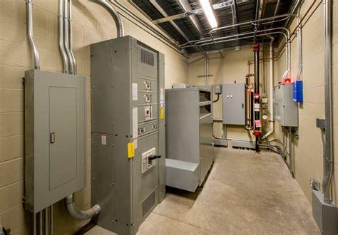 hazards present   electrical room