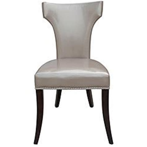 overstockcom leather dining chairs leather dining chairs with nailhead trim set of 2