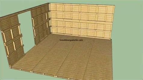 fabriquer une cabane en bois avec des palettes mzaol
