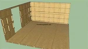 comment construire une cabane en bois youtube With comment construire sa maison en bois