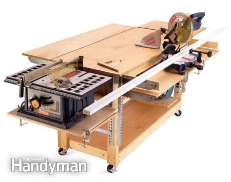 roll up table plans diy tips for your garage the family handyman