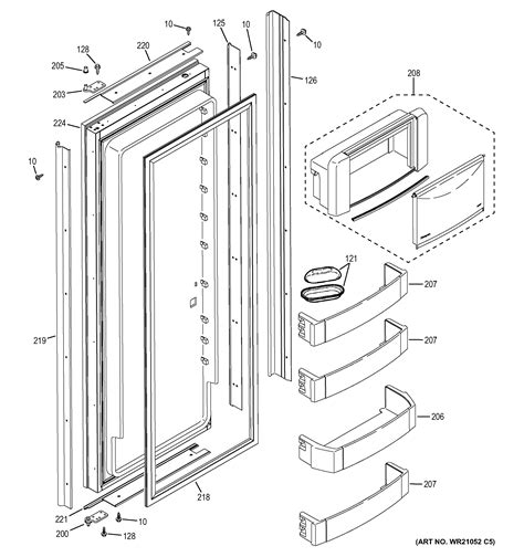 ge zisbdhc side  side refrigerator parts sears partsdirect
