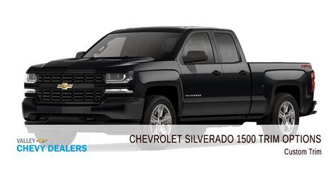 All 2018 Chevrolet Silverado 1500 Trim Levels Compared