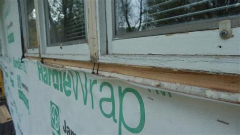 Replace Exterior Window Sill Nose by Created A Mess Attempting To Remove Replace Wood Window