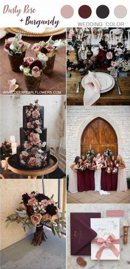 Vintage wedding burgundy colour 44+ ideas #wedding #