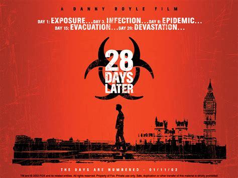 zombie 28 later days movie related survival virus rage british posts 2002