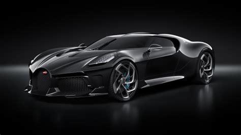bugatti reveals   million dollar la voiture noire