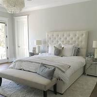 painting a bedroom Paint color is Silver Drop from Behr. Beautiful light warm gray. Stunning. Eye for Pretty | Pick ...
