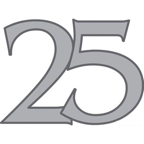 Feestartikelen 25 Jaar Getrouwd En Versiering 25 Jarig