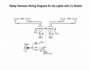 Wiring 2 Relay U0026 39 S To 1 Switch