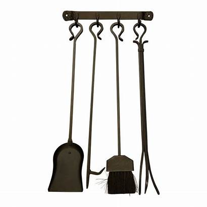 Fireplace Tools Wall Rustic Mounted Sold