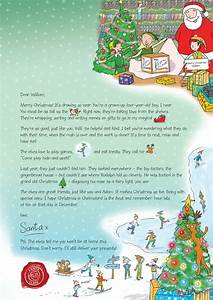 Father Christmas Letter Template Letter From Santa There Are Five Magical Styles Of