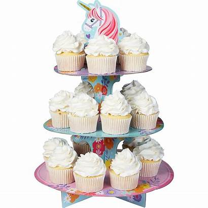 Party Cupcake Unicorn Stand Magical Cake Pick