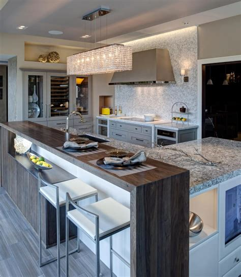 contemporary kitchen island ideas 32 magnificent custom luxury kitchen designs by drury design