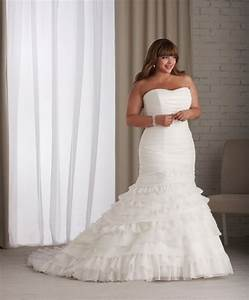dressybridal wedding dresses for full figured women With plus size mermaid wedding dresses