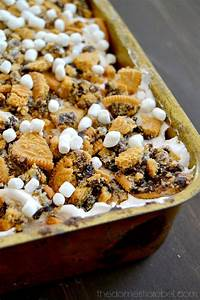 No-Bake S'mores Lush Dessert | The Domestic Rebel