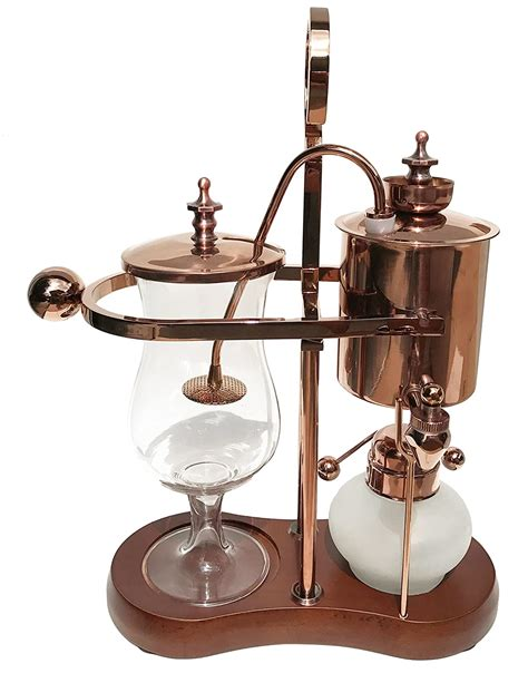 Most of those machines do not have the ability to. Best belgium royal balance syphon coffee maker - 4U Life