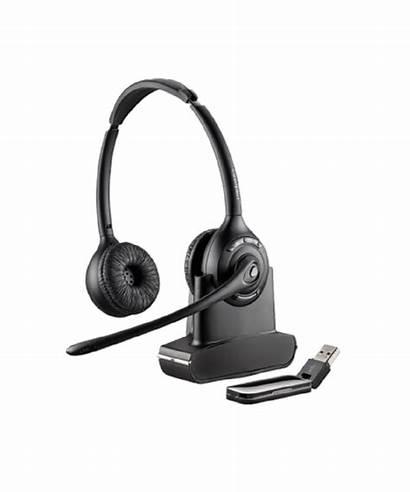 Plantronics W420 Headset Dect Draadloze Savi Stereo