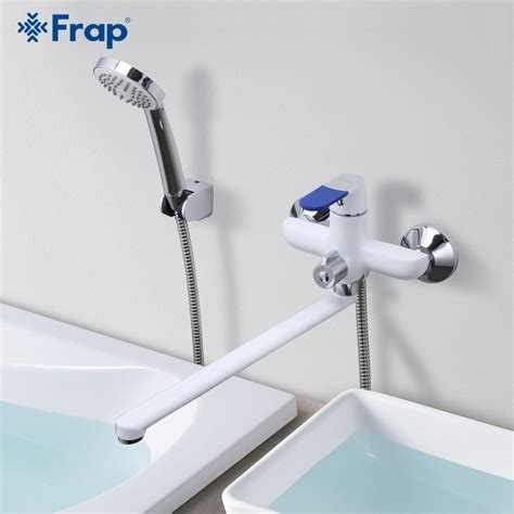 frap modern style bath faucet wall mounted cold  hot
