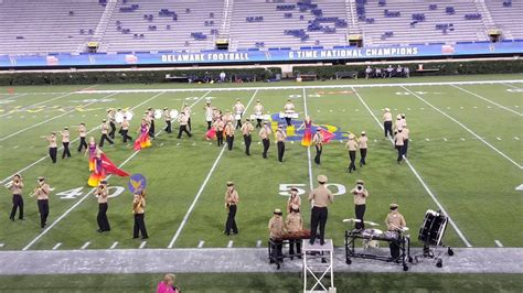 sept delaware military marching seahawks uofd youtube