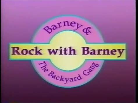 Barney And The Backyard Theme Song by Rock With Barney Custom Theme Backyard Version