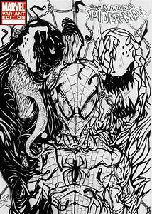 spiderman comic cover b w by darkartistdomain on DeviantArt