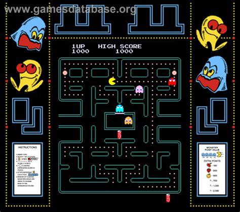 Pac Man Plus Arcade Games Database