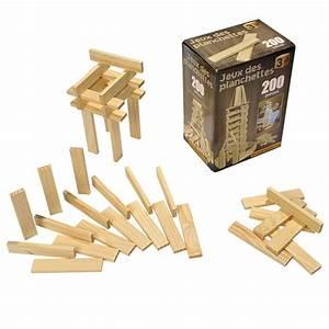 Jeux Exterieur Pas Cher : jeu de construction en bois 200 planchettes pas cher ~ Farleysfitness.com Idées de Décoration