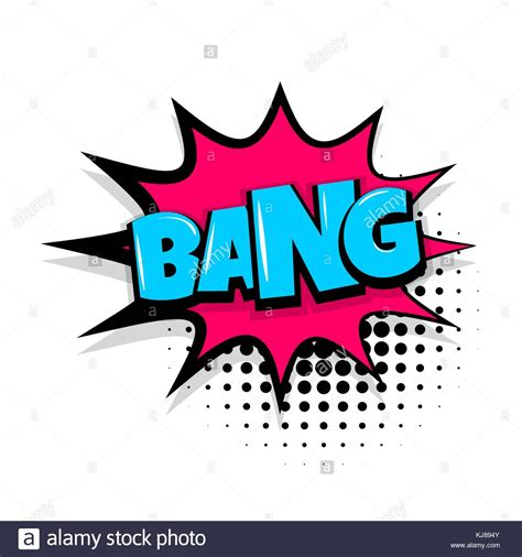 Boom Comic Sound Effect Vector Cut Out Stock Images