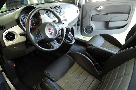 Fiat 500 Leather Seats