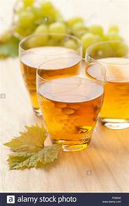 Fresh white grape juice in a glass Stock Photo: 94174196 ...