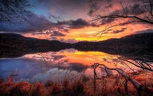 Pin Nature-autumn-sunset-wallpapers-get on Pinterest