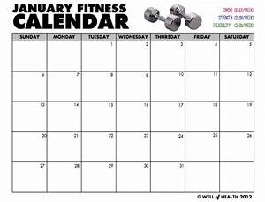 image gallery exercise calendar 2016 With gym calendar template