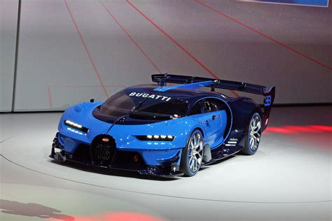 The bugatti veyron was first mentioned at the 1999 tokyo motor show and the car was green lit for production in 2001 with the first car coming. Bugatti unveils Vision Gran Turismo show car at Frankfurt Auto Show - New York Daily News