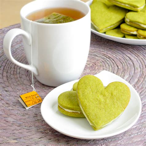 Honey Green Tea Cookies  Snixy Kitchen