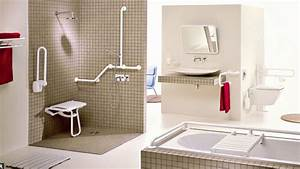 salle de bain handicape equipement des idees novatrices With amenagement salle de bain handicape