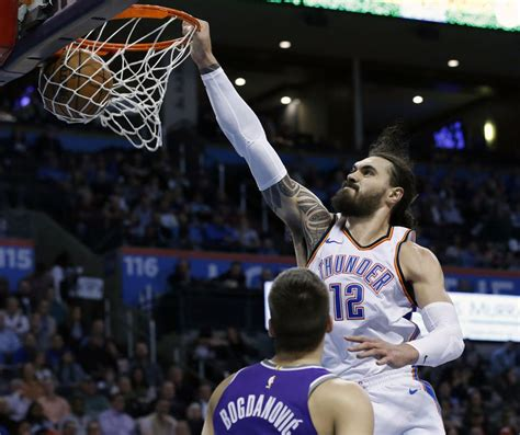 From dunking to floating: How Steven Adams took his game ...