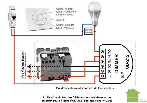 bouton poussoir legrand c 233 liane pour module volet