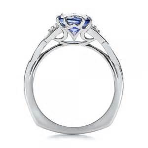 unique sapphire engagement rings custom unique setting blue sapphire engagement ring 100793 bellevue seattle joseph jewelry