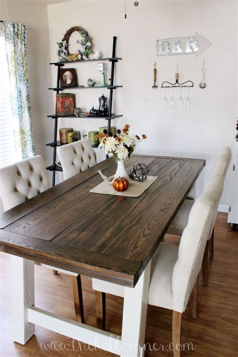 farm style kitchen table for sale diy farmhouse style dining table home garden