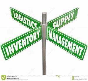 Inventory Management Logistics Supply Control 4 Way Road ...
