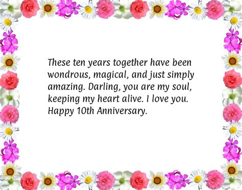 Wedding Anniversary Poems Short