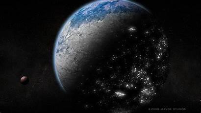 Alien Planet Desktop Pc Os Planets Mac