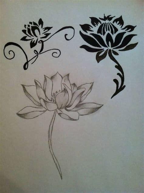 japanese lotus flower tattoo designs japanese design