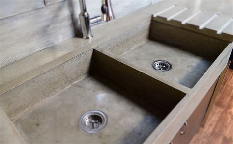 concrete kitchen sink mode concrete modern contemporary concrete kitchen with 2431