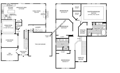 home floor plans 4 bedroom 2 modular home floor plans luxamcc