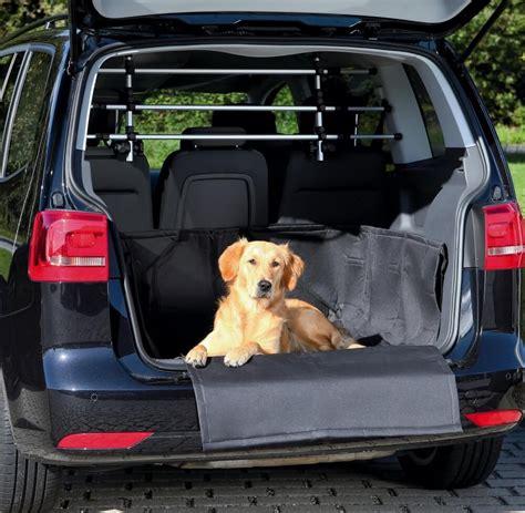 voiture avec grand coffre prot 232 ge coffre voiture avec protection pare choc accessoires voiture chien